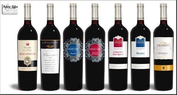 French Wine--Le Bon de Marquis Cabernet Merlot Vin de pay D'oc