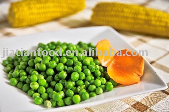 New Frozen green peas of 2010