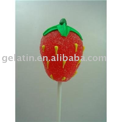 Sweet Strawberry Models http://www.21food.com/products/fruit-sweet-jelly-candy-(strawberry)-468644.html
