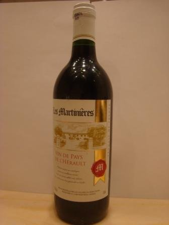 Les martinieres French Vin De Pays Wine