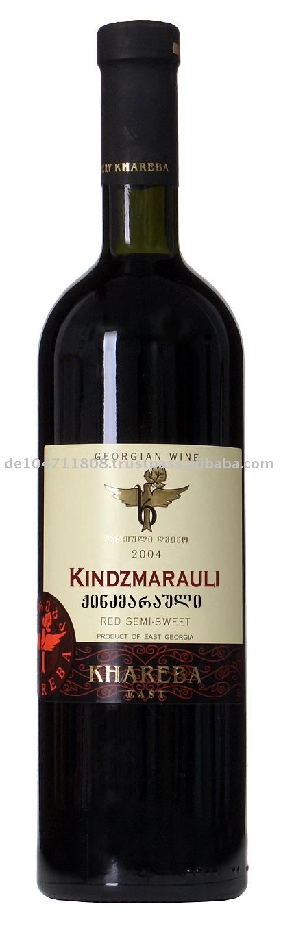KINDZMARAULI Red Semi Dry wine