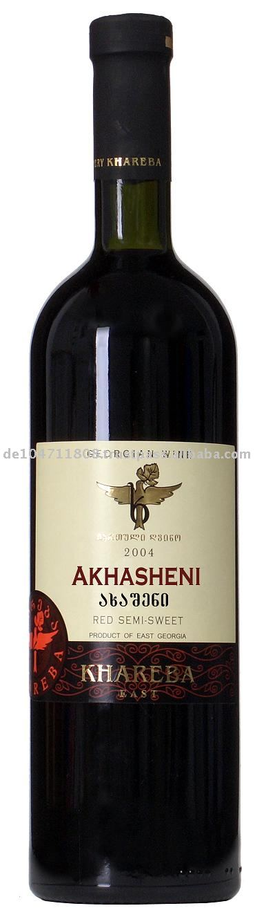 AKHASHENI Red Semi Dry wine