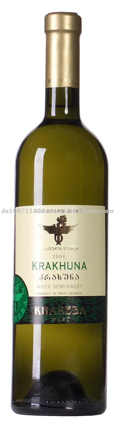 KRAKHUNA Semi Dry White wine