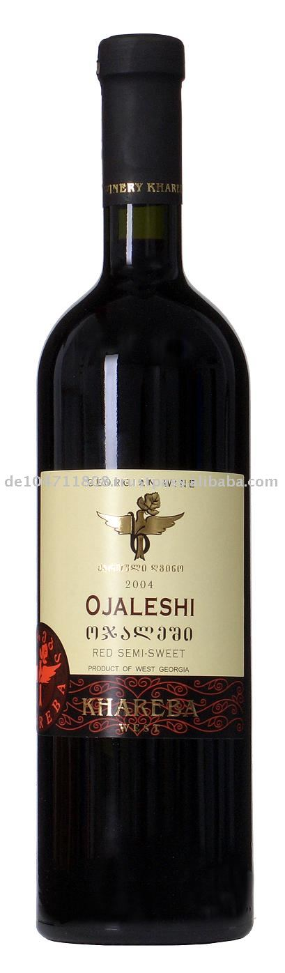 OJALESHI Red Semi Dry wine