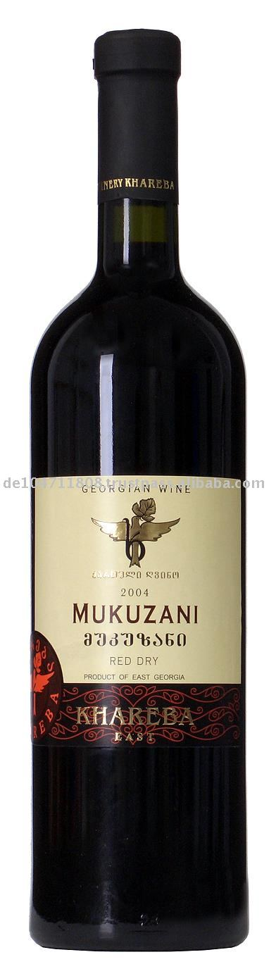 MUKUZANI Red Dry wine