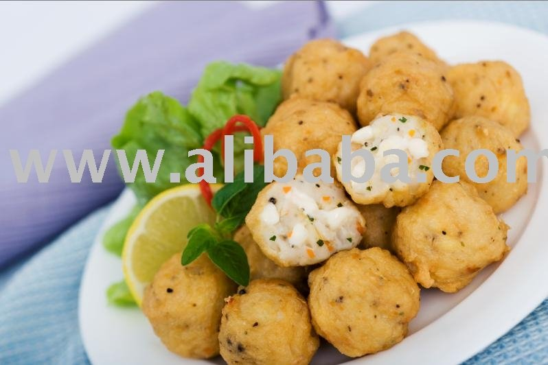 Frozen Cuttlefish Ball Cheese