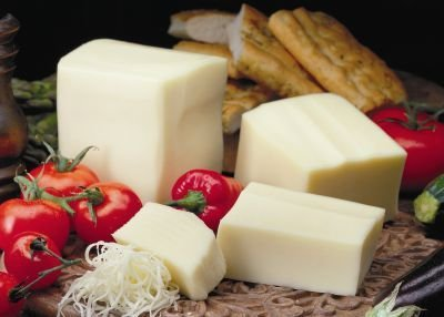 Mozzarella Cheese in Blocks