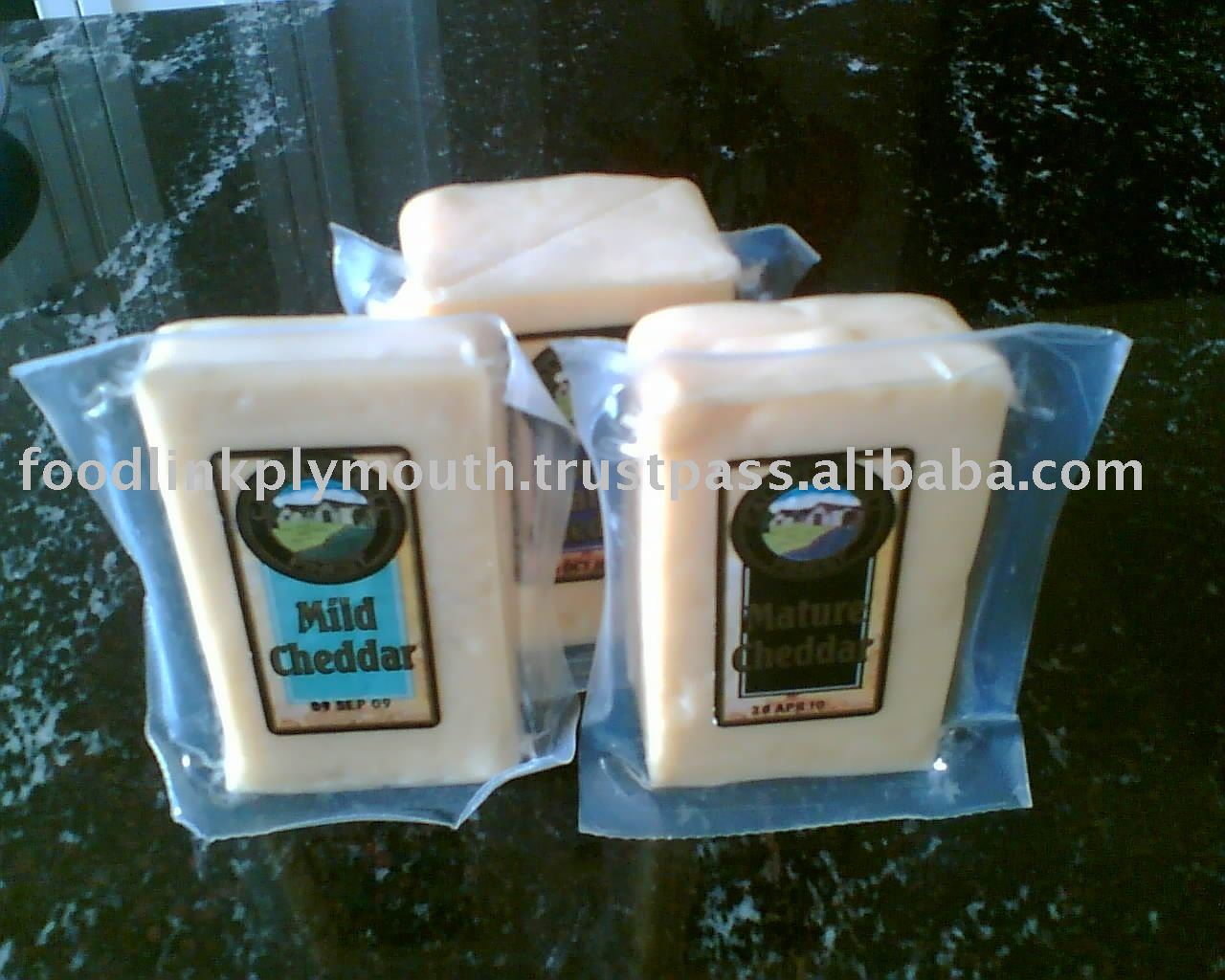 Cheddar Cheese  portion   pack