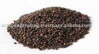 Black ,Brown Quinoa grains, organic