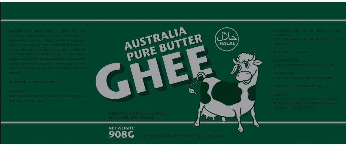 Australia Pure Butter Ghee