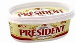 President Unsalted Butter in Cup ( 250 g )