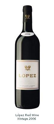 Lopez Red Wine Vintage 2006 Wine ProductsArgentina Lopez Red Wine