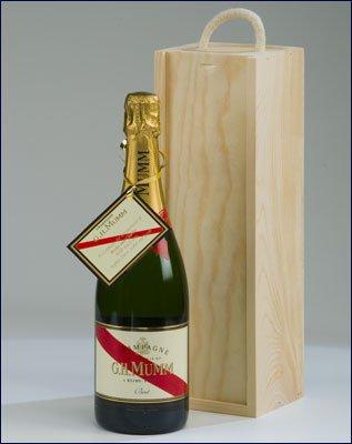 MUMM BRUT 75cl Gift Box champagne