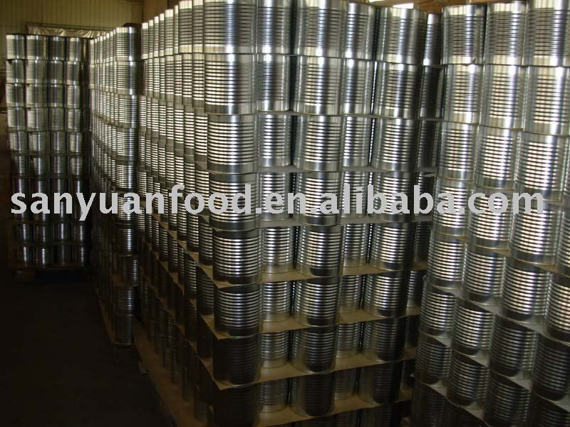 tinned Tomato Paste -double concentrated and premium quality