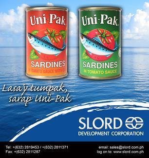 Uni-pak Sardines in Tomato Sauce