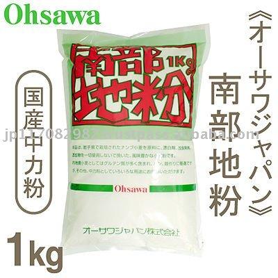 NANBU flour (domestic all-purpose flour) 1kg (OSAWA Japan)