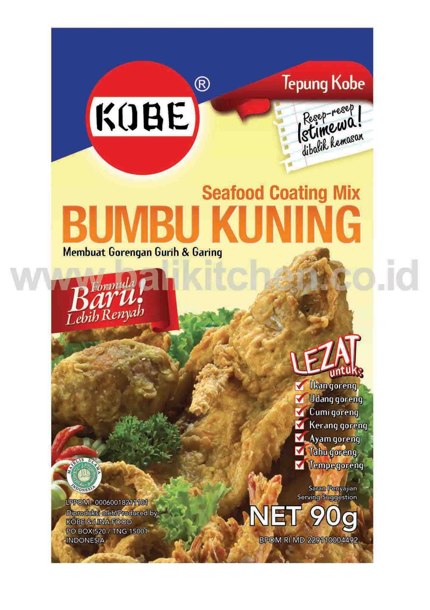 SEAFOOD COATING MIX 90G