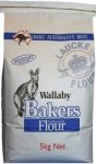 Bakers Plain Flour 5kg AAAA Laucke Wallaby Bakers Flour