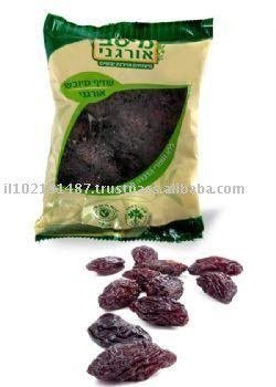 Organic dried prunes with the pit