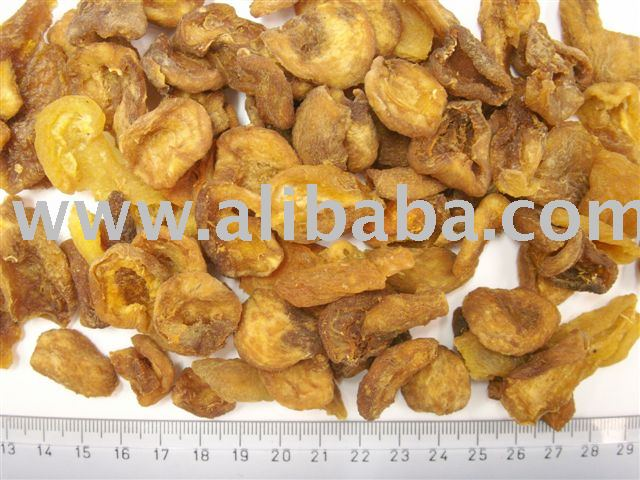 Dried organic wild apricot halves sweet sour