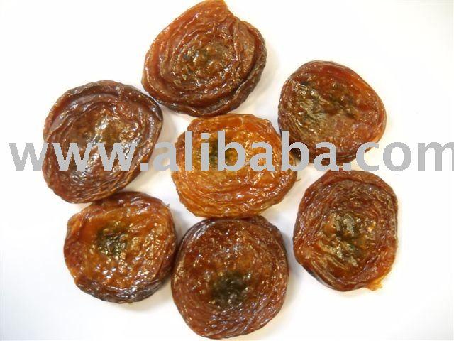 Organic dried apricots stuffed with black Bukhara raisins