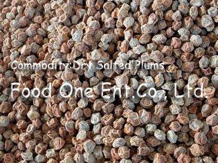 Dry Salted (Sugared) Plum (Prunus)