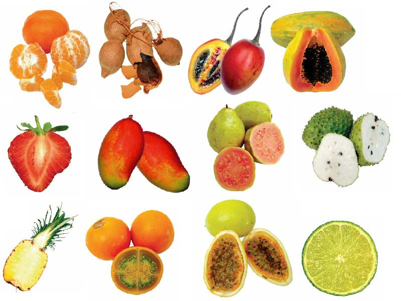 Tropical Fruits Pulp