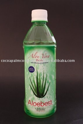 Aloe Vera juice for Health - with real Aloe Vera fruit slices