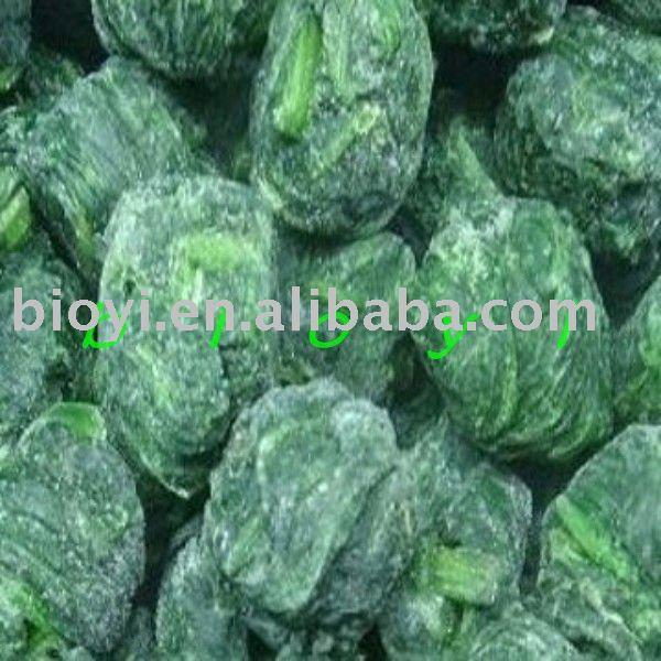 frozen vegetable-spinach ball