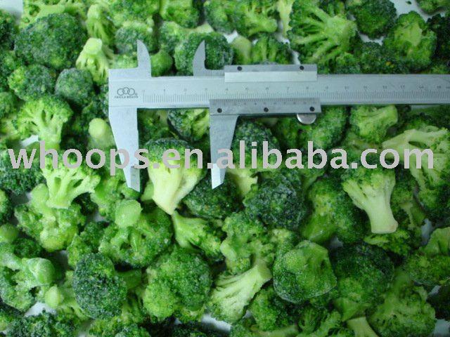 Новый урожай цветков брокколи iqf