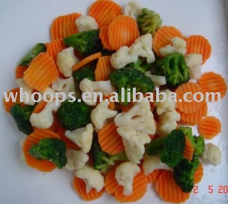 IQF смешанные овощи