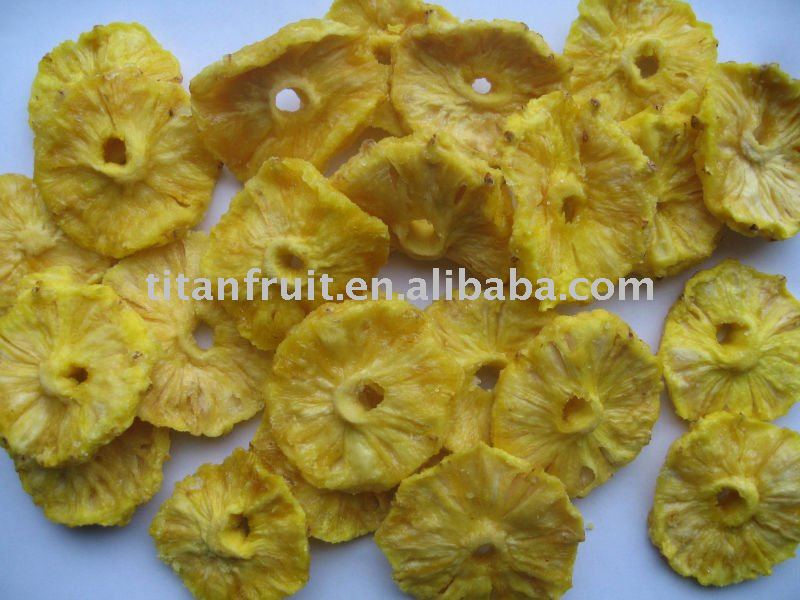how to make dried pineapple rings