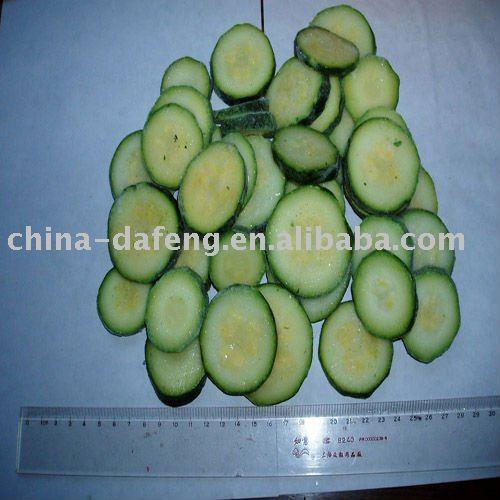 IQF Sliced Green Zucchini