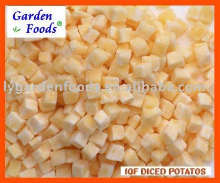 2011 новый урожай IQF нарезанный кубиками картофель с лучшими ценами