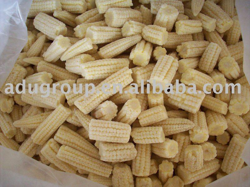 frozen baby corn cut,IQF baby corn cut