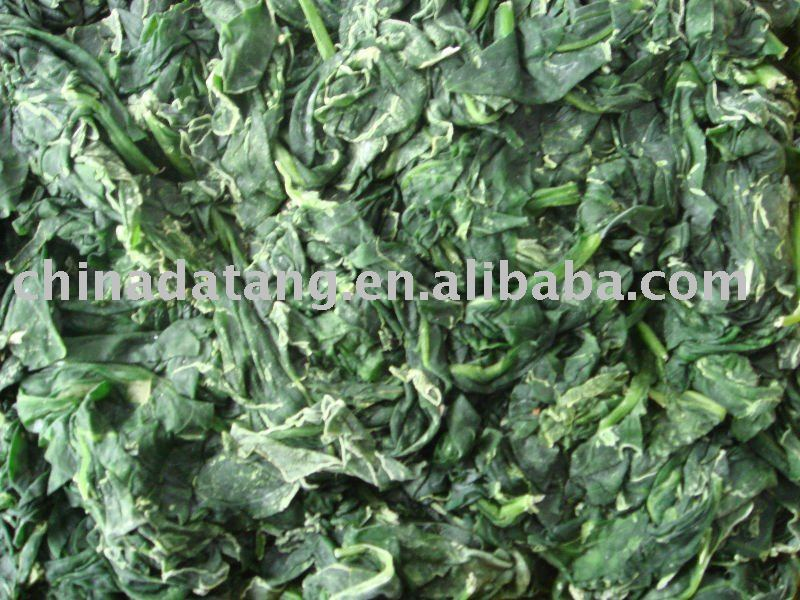 iqf vegetables frozen spinach