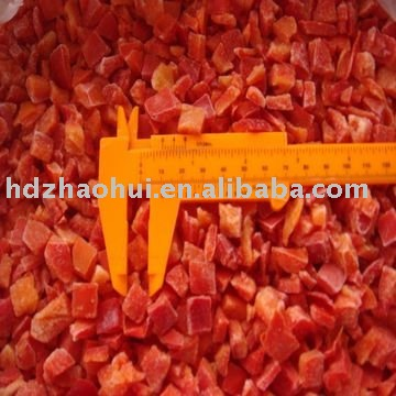 frozen green sweet pepper dices products,China frozen green sweet ...