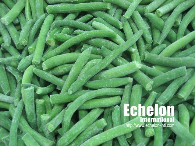 2010 Crop IQF Frozen Green Sword Bean cut