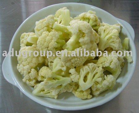 frozen cauliflower,IQF cauliflower,white cauliflower