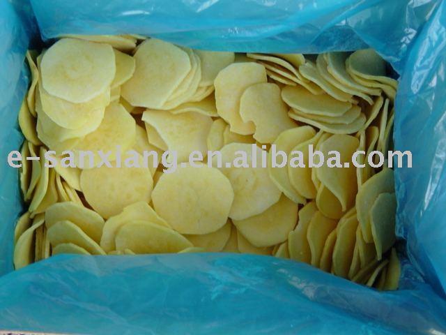 замороженные кусочки сладкого картофеля