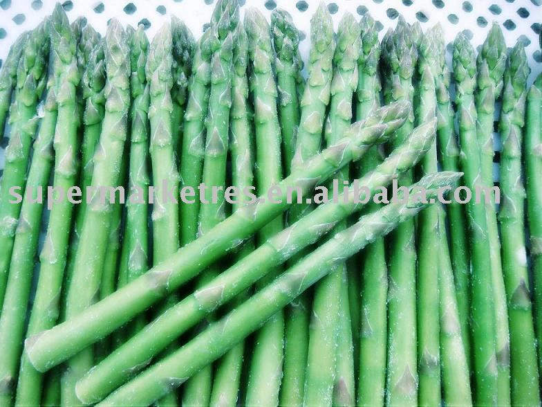 IQf green asparagus products,China IQf green asparagus supplier