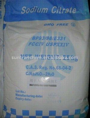 Sodium Citrate Powder/BP/USP/ FCCIV