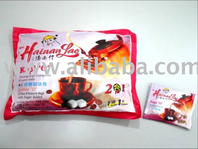 Mr Hainan Lao Kopi O - 2 in 1coffee