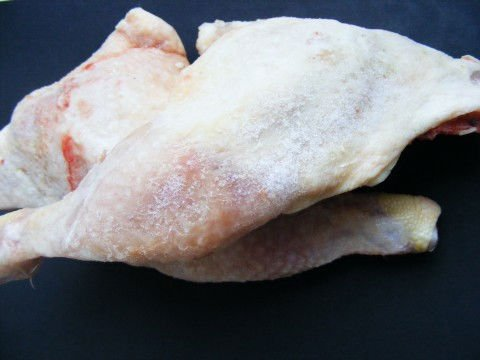 frozen chicken leg quarter