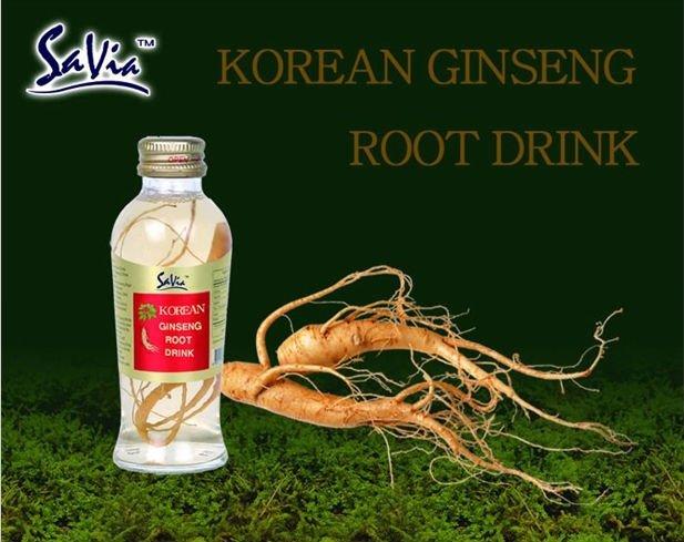 ginseng  drink bottle _ SAVIA s  ginseng   juice