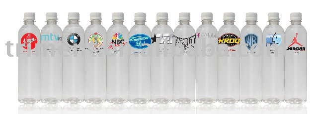 Custom natural spring water