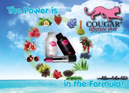 Cougar Energy Drink for Women