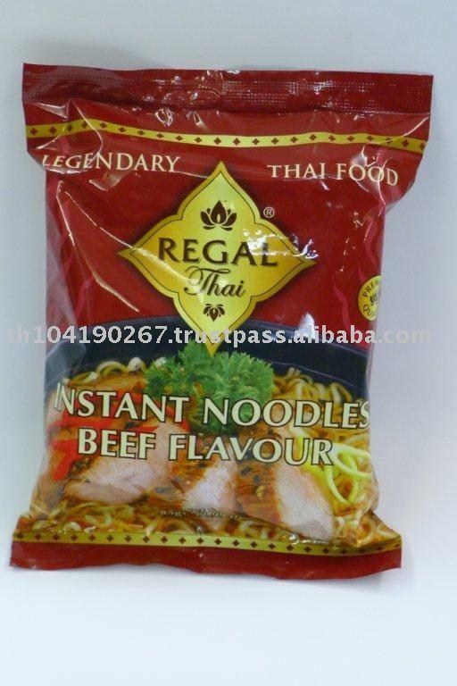 Instant Noodles Beef Flavour