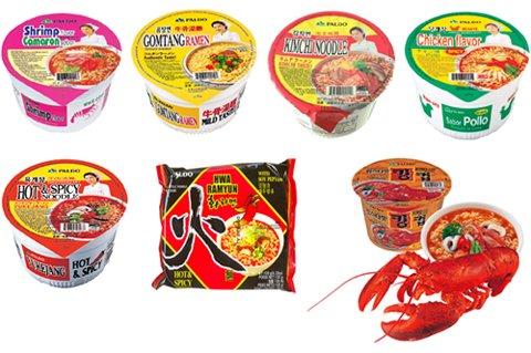 Paldo Instant Noodle Soups