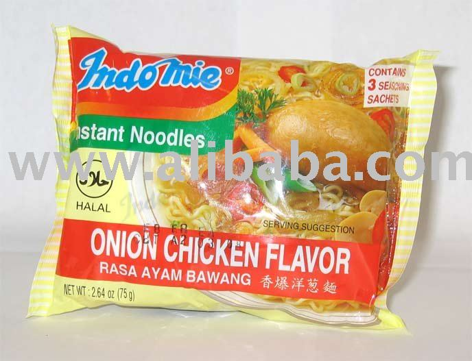 INDOMIE INSTANT NOODLES ONION CHICKEN FLAVOR